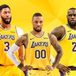 NBA – Le trade à 5 joueurs qui enverrait Damian Lillard aux Lakers