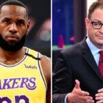NBA – Pourquoi LeBron et Adrian Wojnarowski sont-ils en froid ?