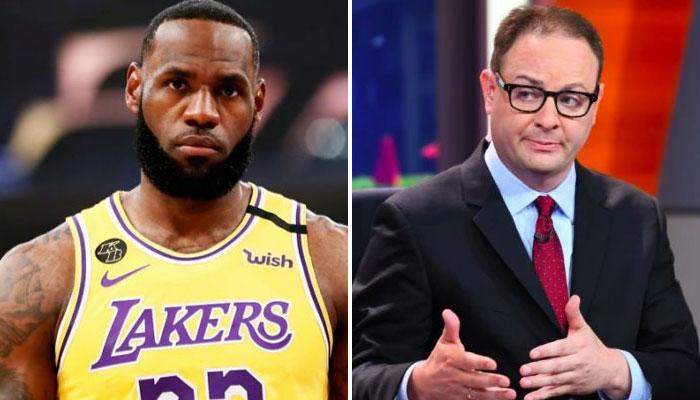NBA Les raisons derrière les tensions entre Lebron James et Adrian Wojnarowski