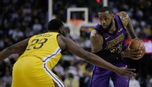 NBA – Draymond Green secoué devant LeBron James