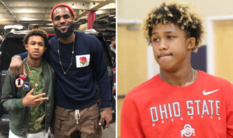 "NBA - Lebron James est ""l'oncle"" de Meechie Johnson, un gros prospect au niveau High School"