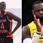 NBA – LeBron s'enflamme pour Makur Maker, le top prospect 5 étoiles qui affole la ligue