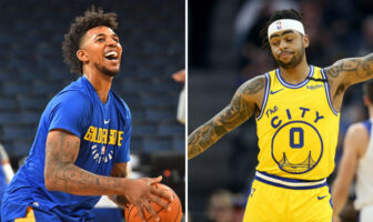 NBA Nick Young trolley salement D'Angelo Russell