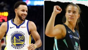 NBA – La pépite et protégée de Kobe Sabrina Ionescu explose tout, Curry réagit !