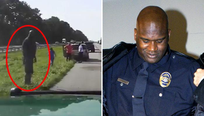 Shaquille a aidé la victime d'un accident de la route