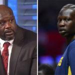 NBA – Quand Shaquille O'Neal suspendait… Bol Bol !