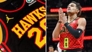NBA – Les Hawks dévoilent leurs sublimes nouveaux maillots !