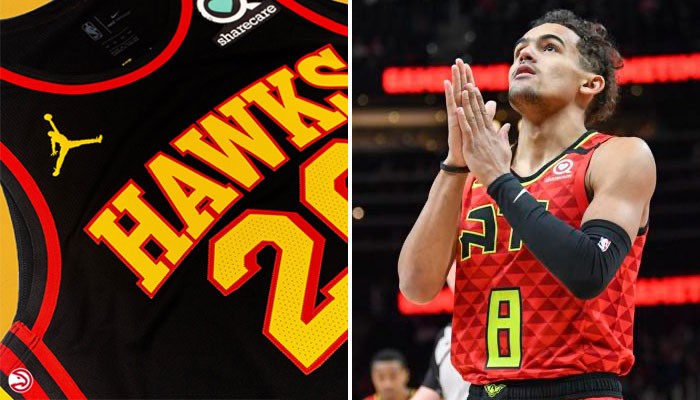 Trae Young peut remercier le ciel, les Hawks ont enfin un nouveau maillot NBA