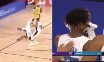 Wes Iwundu a gravement chuté après un dunk raté NBA