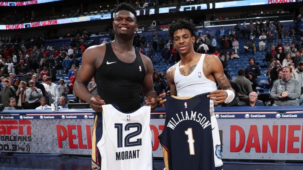 Ja Morant confirme qu'il ne s'embrouillera jamais avec Zion Williamson