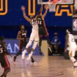 NBA – Rudy Gobert contre salement Tyler Herro et le trash-talke derrière !