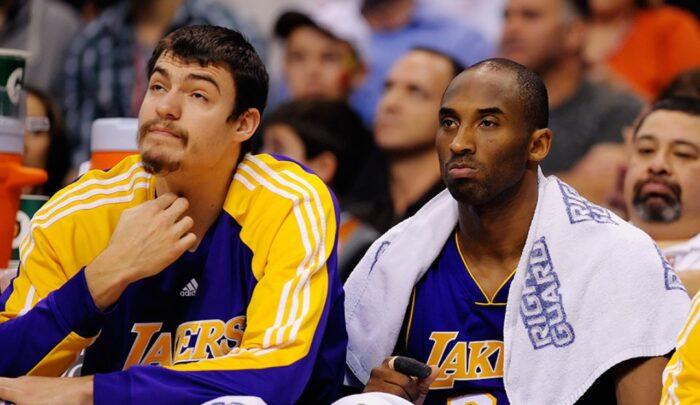 Adam Morrison et Kobe Bryant