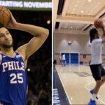 NBA – Ben Simmons sort un move à la James Harden lors de l'entraînement !
