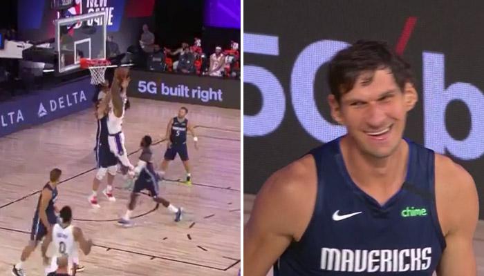 Boban ridiculise Howard avec deux contres... sans même sauter-NBA