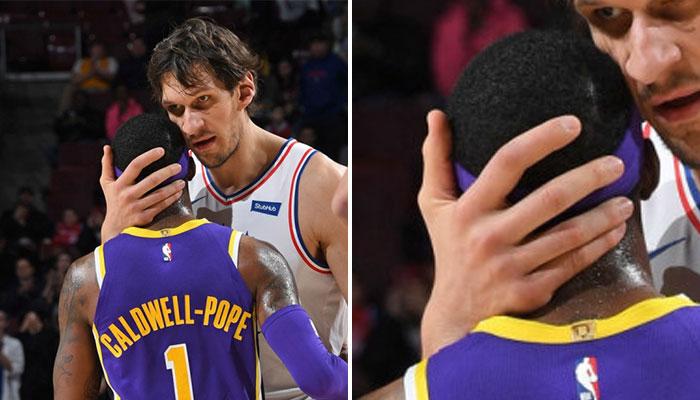 Boban Marjanovic photos de ses mains en NBA