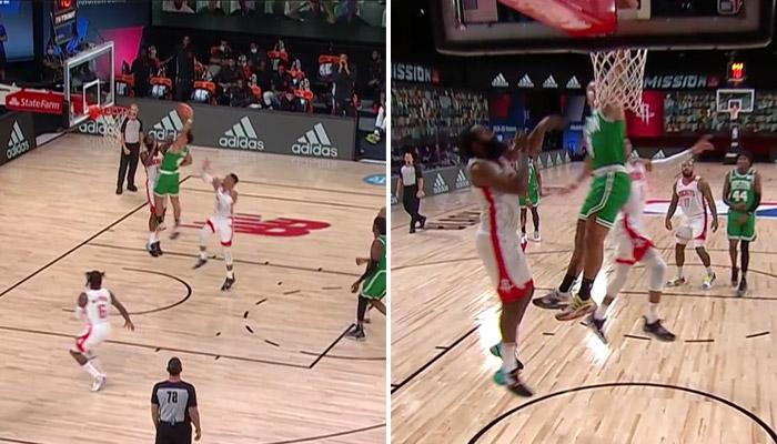 NBA - Un joueur des Celtics provoque James Harden après un ...