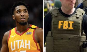 Donovan Mitchell NBA Jazz FBI