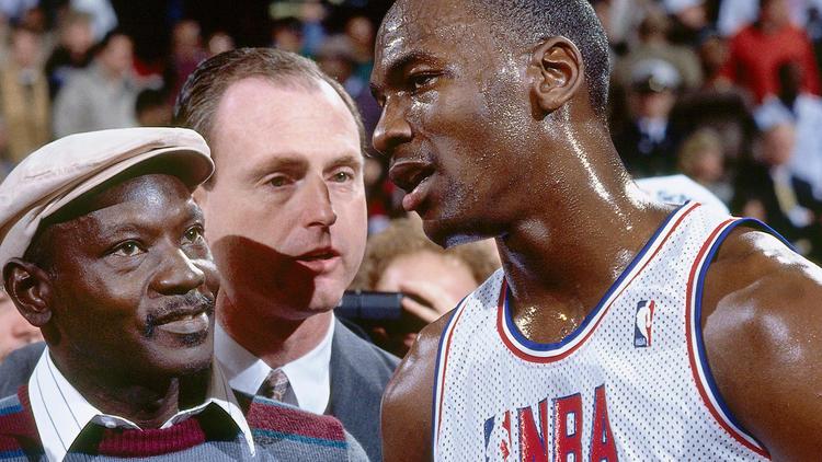 Michael Jordan et James Jordan