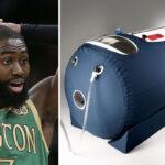 NBA – L'objet WTF que Jaylen Brown a ramené dans sa chambre à Orlando