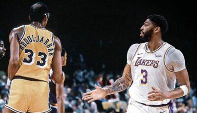 NBA – Anthony Davis surpasse KAJ dans une impressionnante stat
