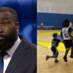 NBA – À 8 ans, le fils de Kendrick Perkins fait le buzz en match !