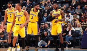 Le joli geste des Lakers pour l'un de leurs joueurs-NBA