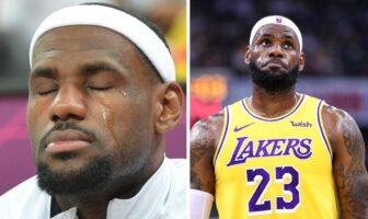 LeBron James shook
