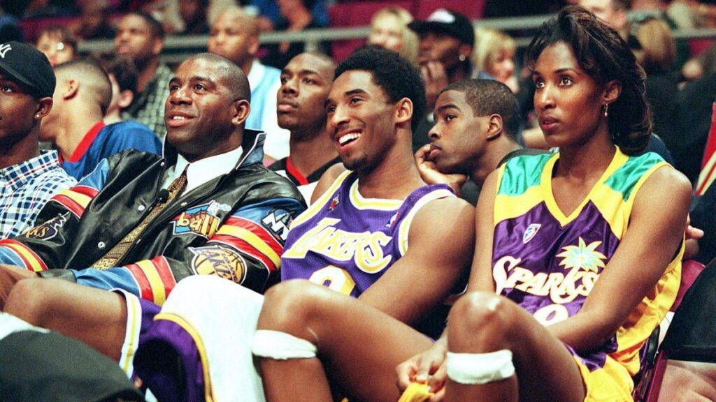 Magic Johnson, Kobe Bryant et Lisa Leslie