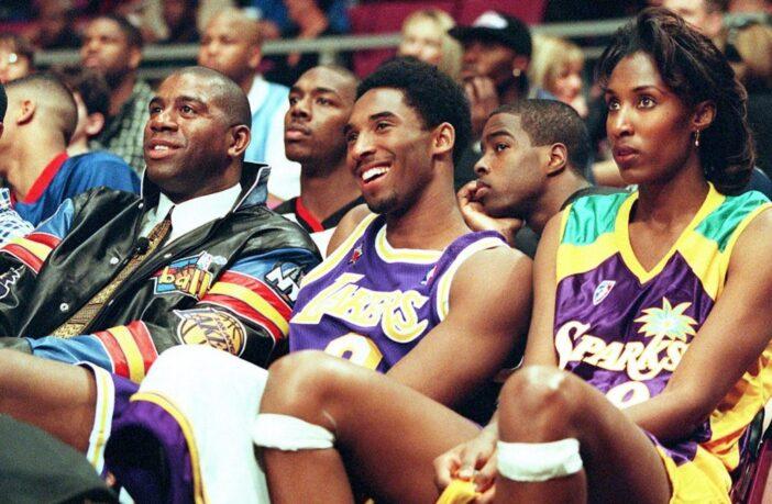 Magic Johnson, Kobe Bryant et Lisa Leslie