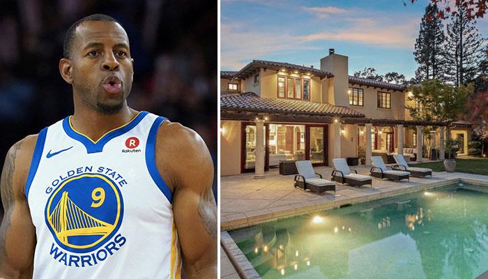 NBA - La superbe maison mise en vente par le joueur NBA Andre Iguodala dans la Baie