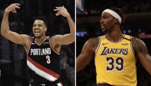 NBA – Le tacle de CJ McCollum à l'encontre de Dwight Howard