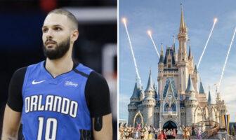 Evan Fournier évoque Disney à Orlando NBA