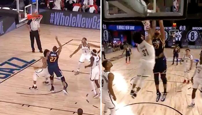 NBA - Chahuté au rebond, Rudy Gobert se venge et lâche un gros poster !