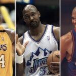NBA – Karl Malone dégomme Shaq et Charles Barkley