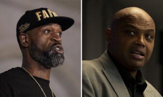 Clash entre les anciens joueurs NBA Stephen Jackson et Charles Barkley !