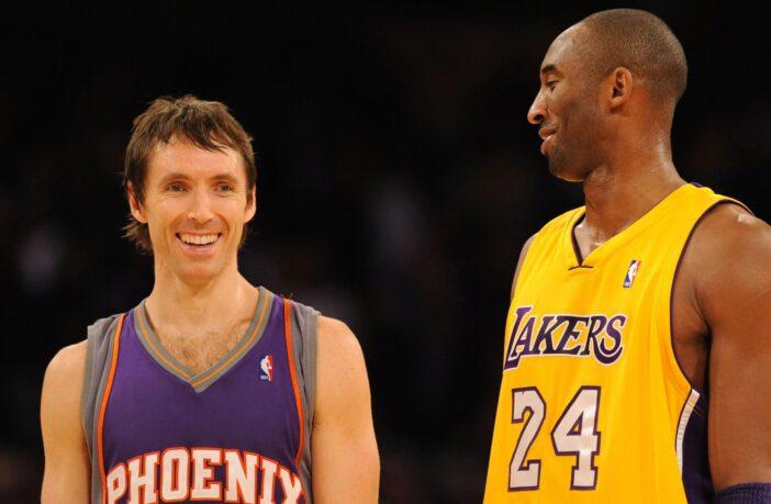 Steve Nash et Kobe Bryant