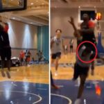 NBA – Zion Williamson martyrise ses coéquipiers à l'entraînement et lâche un 360 !