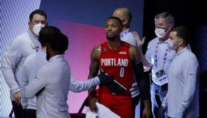 NBA – Damian Lillard se blesse contre les Lakers