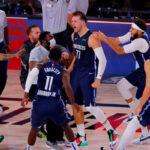 NBA – LeBron, Curry, Lillard… : les joueurs réagissent au buzzer-beater fou de Luka