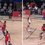 NBA – L'horrible flop d'un joueur des Wizards sur Joel Embiid