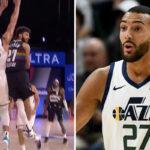 NBA – L'incroyable 360 de Jamal Murray sur la tête de Rudy Gobert