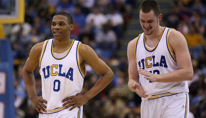 Kevin Love et Russell Westbrook à UCLA en NCAA