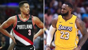 NBA – Le trash-talking subtil de LeBron James contre CJ McCollum avant les playoffs