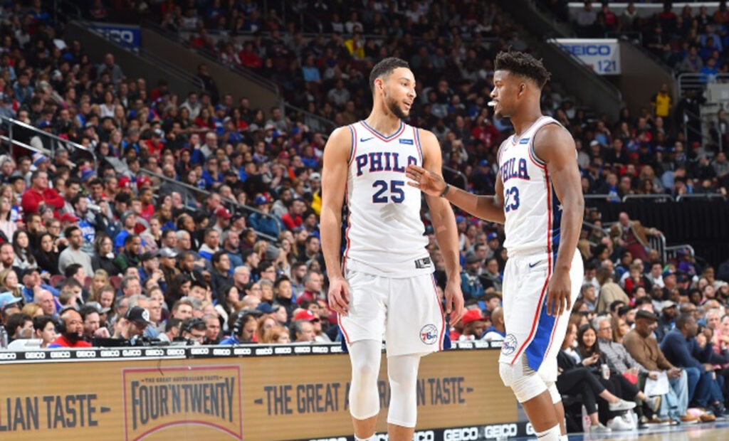 Jimmy Butler et Ben Simmons se seraient embrouillés pour un message NBA