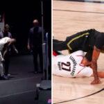 NBA – Damian Lillard et Anthony Davis sortent sur blessure dans ce Game 4 !