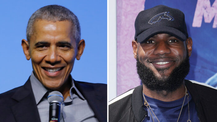Barack Obama et LeBron James