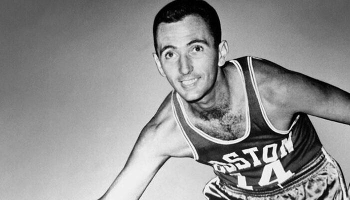 Bob Cousy, légende des Boston Celtics