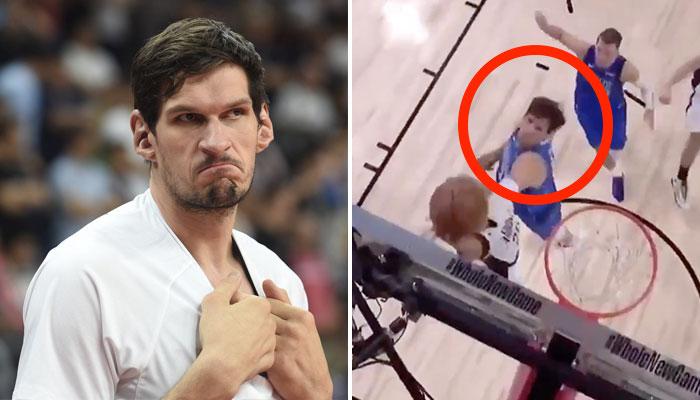 NBA - Boban Marjanovic postérizé... par un arrière des Clippers !