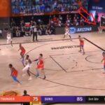 NBA – L'incroyable shoot de Devin Booker, comme si de rien n'était