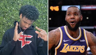 NBA – Bronny James rejoint le « FaZe Clan »… et enflamme internet !